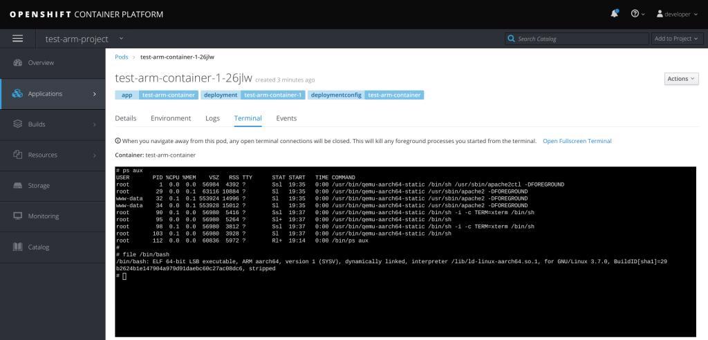 Triển khai và phát triển IoT Edge với các container thông qua OpenShift: Phần ...