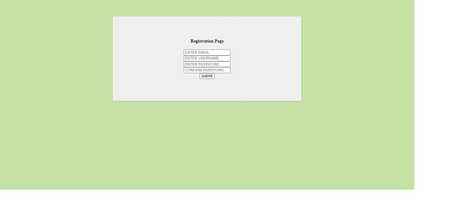 Biểu mẫu đăng ký với HTML và CSS # 1