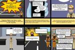 Ninja phân tích và kẻ giết người trong bãi đậu xe [Truyện tranh]