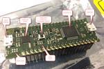 Bảng mạch TinyK22 đầu tiên với NXP K22FN512 ARM Cortex-M4F