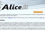 AliceJS - Thư viện Micro Javascript sử dụng tăng tốc phần cứng ...