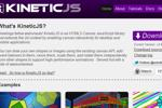 KineticJS - Thư viện JavaScript Canvas HTML5