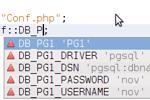 Sử dụng các lớp PHP để lưu trữ dữ liệu cấu hình